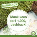 tuinkeur cashback actie