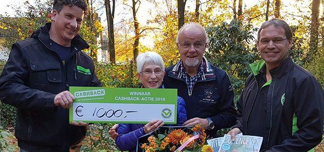 Verdient u ook € 1000,- met uw nieuwe tuin