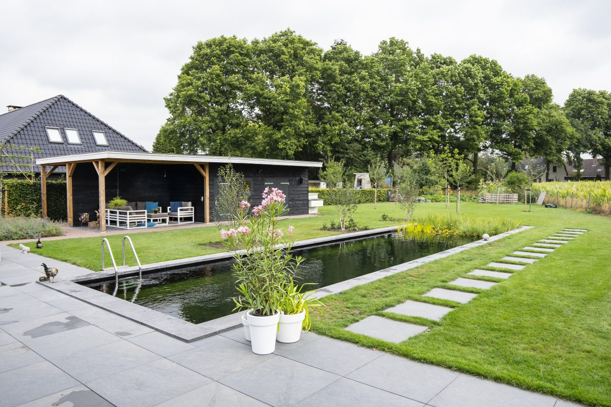 Zwemvijver aanleg Zwolle en omstreken