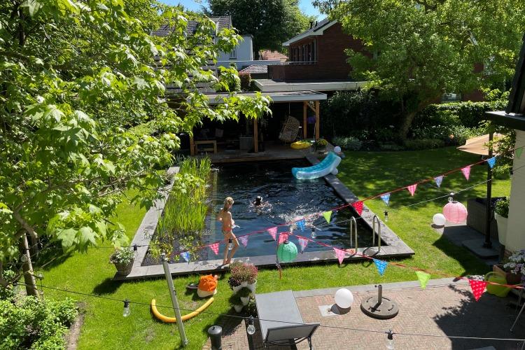 Zwemvijver Hattem Vos Tuinvisie