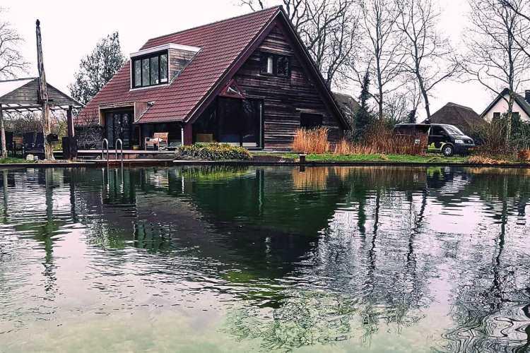 Zwemvijver in Hulshorst